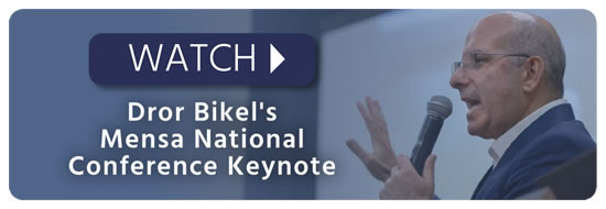 Watch Dror Bikel's Mensa National Conference Keynote
